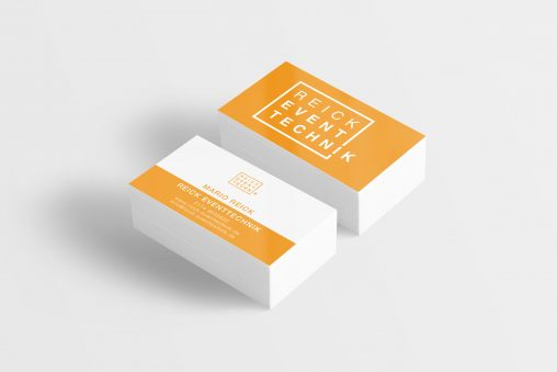 Business Card Mockup 11 (Free Version)